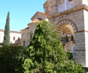 Monastery & chapel at Trizina