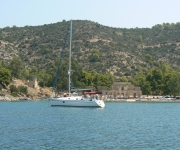 Poros Island - the Russian naval ruins